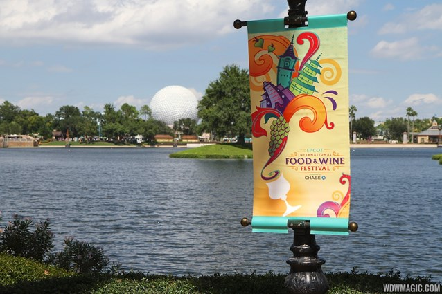 Epcot International Food and Wine Festival - 2013 Epcot International Food and Wine Festival marketplace - Signage