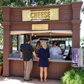 Epcot International Food and Wine Festival - 2013 Epcot International Food and Wine Festival marketplace - Cheese kiosk