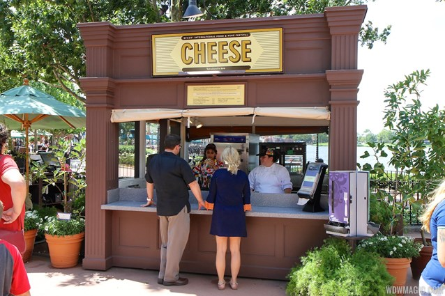 International Food and Wine Festival - 2013 Epcot International Food and Wine Festival marketplace - Cheese kiosk