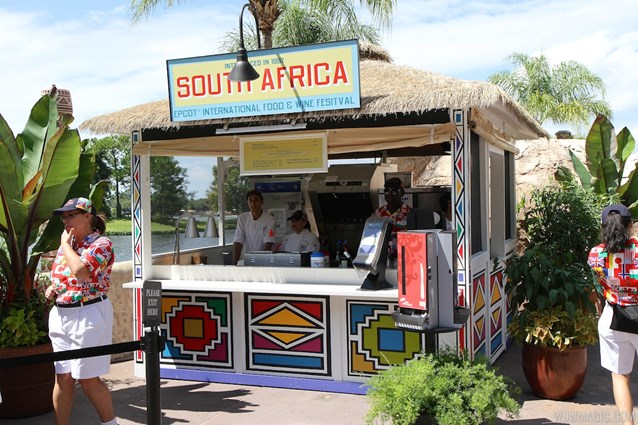 Epcot International Food and Wine Festival - 2013 Epcot International Food and Wine Festival marketplace - South Africa kiosk