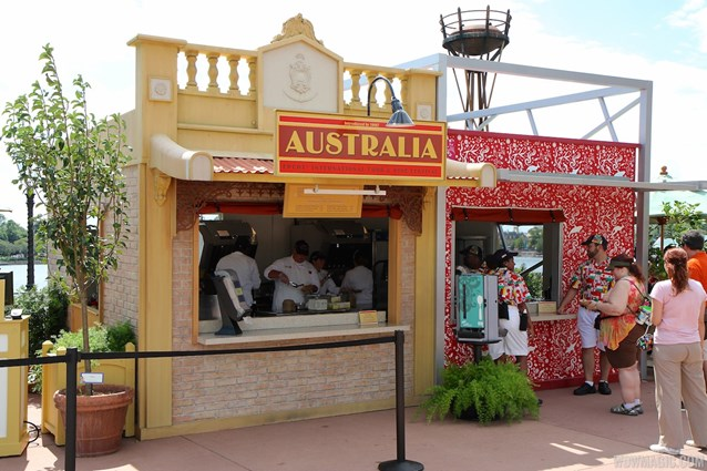 Epcot International Food and Wine Festival - 2013 Epcot International Food and Wine Festival marketplace - Australia kiosk