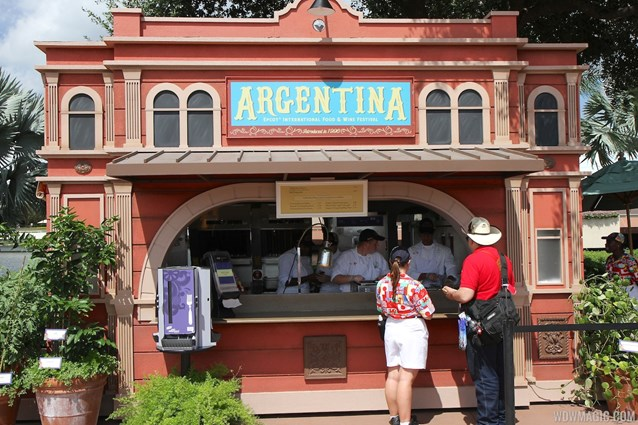 Epcot International Food and Wine Festival - 2013 Epcot International Food and Wine Festival marketplace - Argentina kiosk