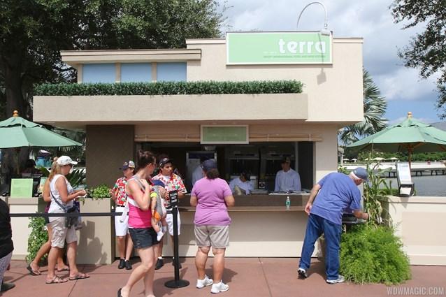 Epcot International Food and Wine Festival - 2013 Epcot International Food and Wine Festival marketplace - Terra kiosk