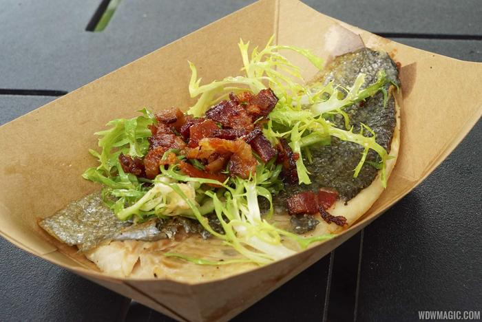 2014 Food and Wine Festival foods