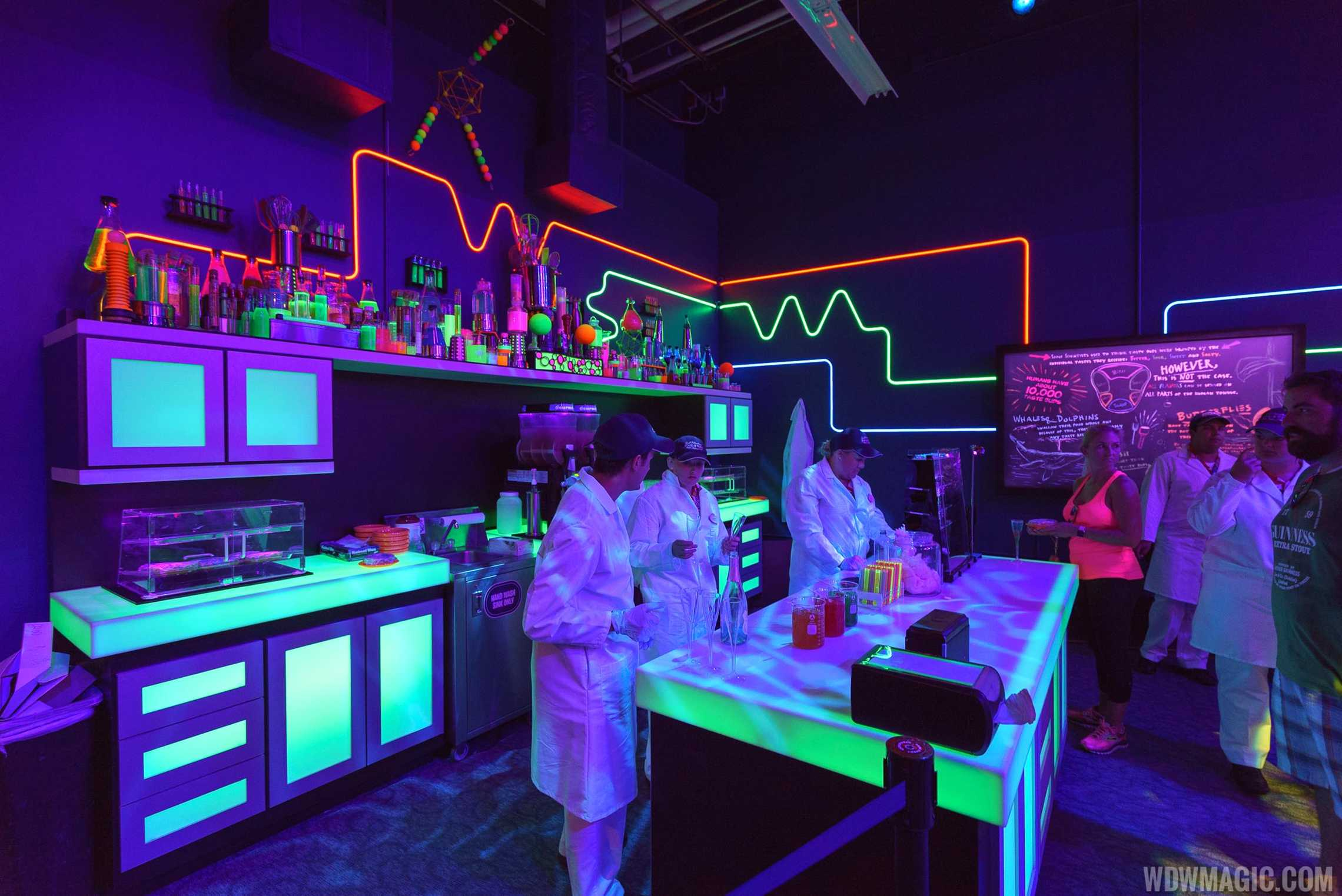 The Light Lab at Epcot's Food and Wine Festival 2017
