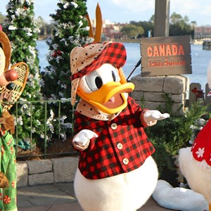 1 of 11: Limited Time Magic - Limited Time Magic - Winter Wonderland character meet and greet at Epcot's Canada Pavilion