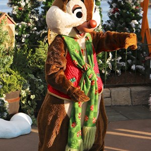 2 of 11: Limited Time Magic - Limited Time Magic - Winter Wonderland character meet and greet at Epcot's Canada Pavilion