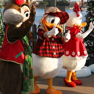 3 of 11: Limited Time Magic - Limited Time Magic - Winter Wonderland character meet and greet at Epcot's Canada Pavilion