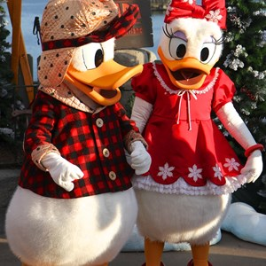5 of 11: Limited Time Magic - Limited Time Magic - Winter Wonderland character meet and greet at Epcot's Canada Pavilion