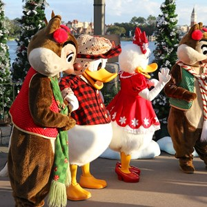 7 of 11: Limited Time Magic - Limited Time Magic - Winter Wonderland character meet and greet at Epcot's Canada Pavilion
