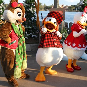 10 of 11: Limited Time Magic - Limited Time Magic - Winter Wonderland character meet and greet at Epcot's Canada Pavilion