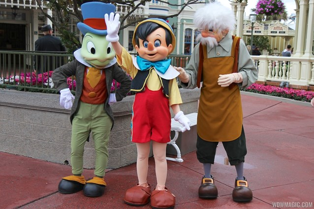 Limited Time Magic - Limited Time Magic - Long-lost Disney friends - Jiminy Cricket, Pinocchio, Geppetto