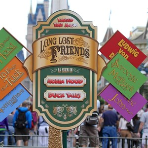 3 of 12: Limited Time Magic - Limited Time Magic - Long-lost Disney friends signage
