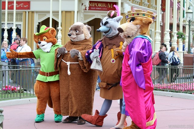 Limited Time Magic - Limited Time Magic - Long-lost Disney friends - Robin Hood unit