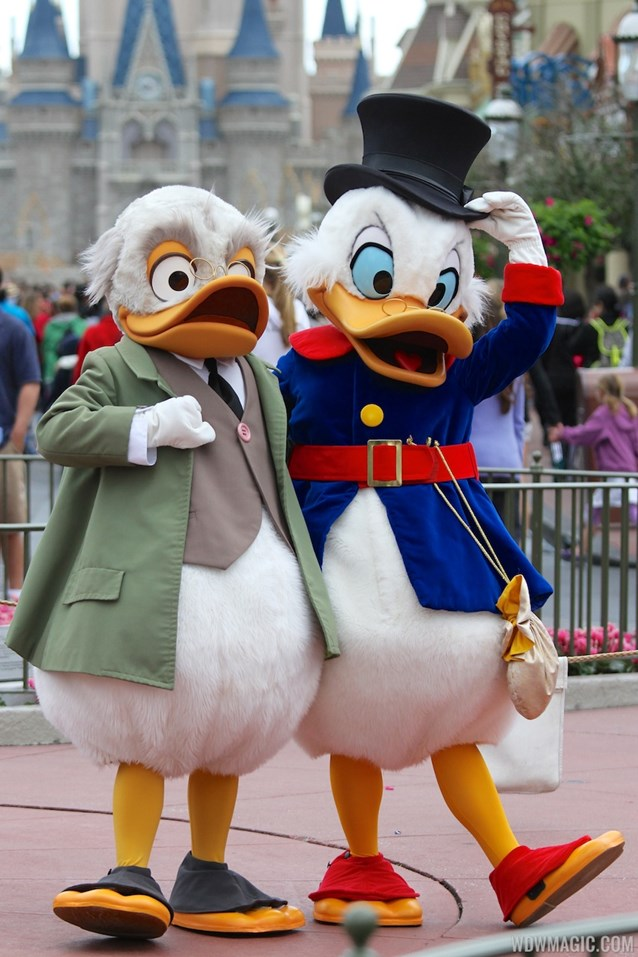 Limited Time Magic - Limited Time Magic - Long-lost Disney friends - Ludwig Von Drake and Scrooge McDuck