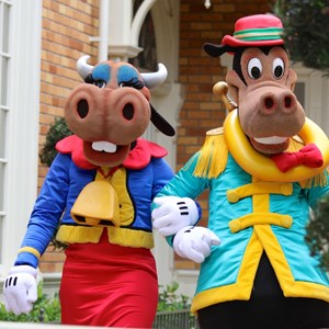 10 of 12: Limited Time Magic - Limited Time Magic - Long-lost Disney friends - Clarabelle Cow, Horace Horsecollar