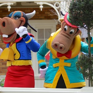 11 of 12: Limited Time Magic - Limited Time Magic - Long-lost Disney friends - Clarabelle Cow, Horace Horsecollar