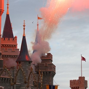 14 of 18: Limited Time Magic - Limited Time Magic's True Love Week - 'A Celebration of True Love' - Fireworks on Cinderella Castle