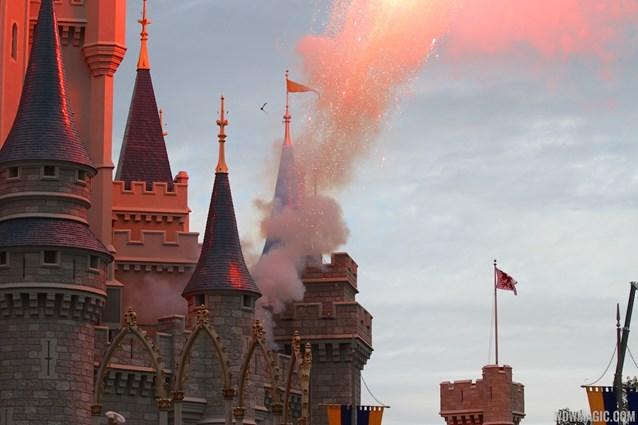 Limited Time Magic - Limited Time Magic's True Love Week - 'A Celebration of True Love' - Fireworks on Cinderella Castle