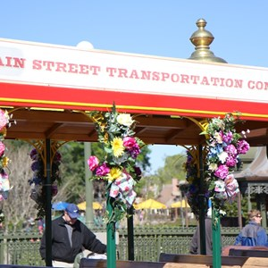 4 of 9: Limited Time Magic - Limited Time Magic's Spring Trolley Show floral decor