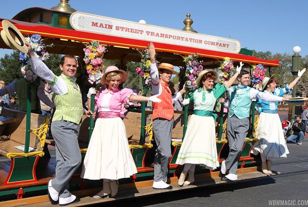 Limited Time Magic's Spring Trolley Show