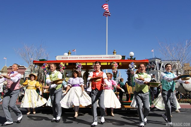 Limited Time Magic - Limited Time Magic's Spring Trolley Show - Train Station stop