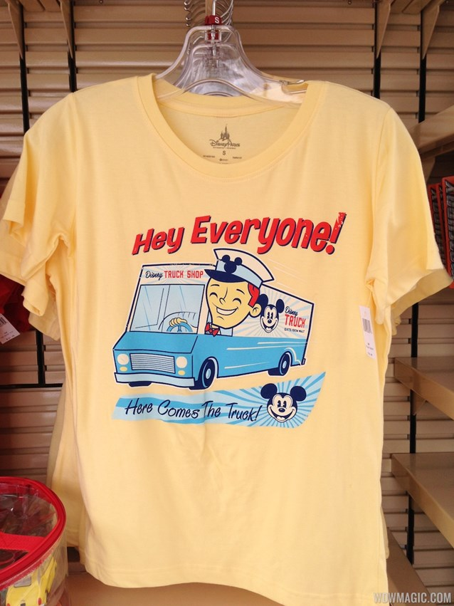 Limited Time Magic - Disney Truck Shop T Shirt - $32.95