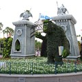 Limited Time Magic - Monsters University Homecoming - Park entrance topiary
