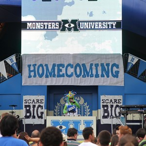 "6 of 17: Limited Time Magic - Monsters University Homecoming - DJ—""Monster of Scaremonies"""