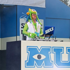 "7 of 17: Limited Time Magic - Monsters University Homecoming - DJ—""Monster of Scaremonies"""