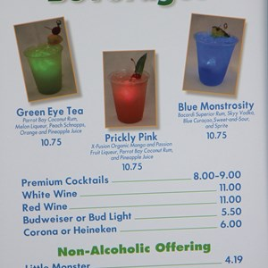 9 of 17: Limited Time Magic - Monsters University Homecoming - Specialty beverages
