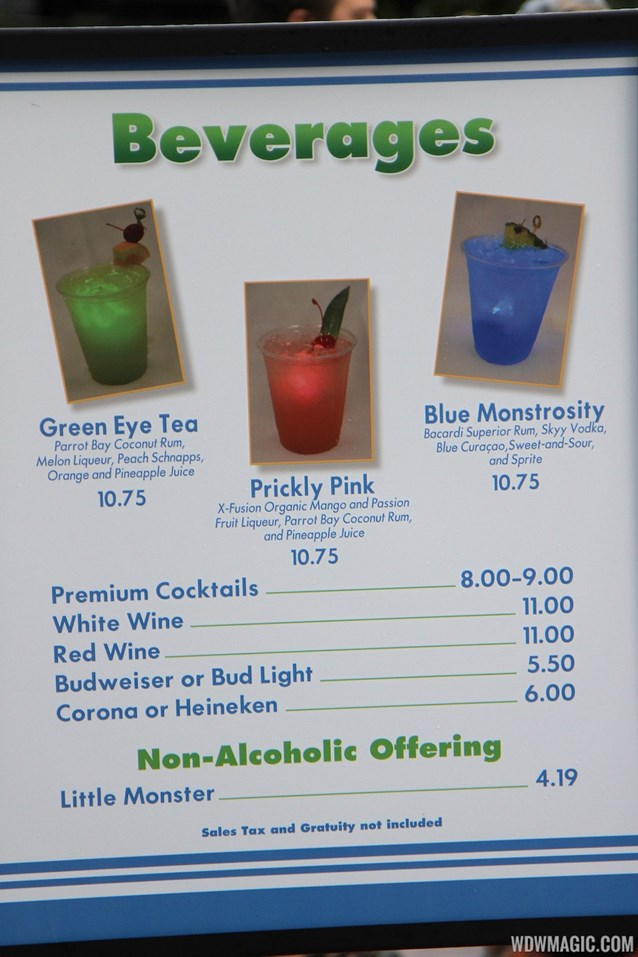 Limited Time Magic - Monsters University Homecoming - Specialty beverages