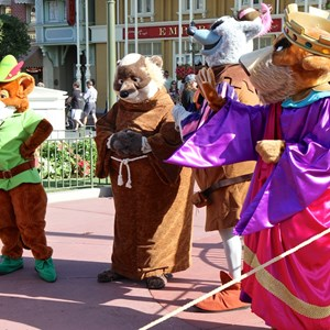 12 of 17: Limited Time Magic - Limited Time Magic - Long Lost Disney Friends Week 2 - Robin Hood, Sheriff of Nottingham, Prince John and Friar Tuck