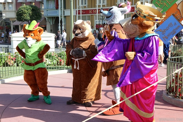 Limited Time Magic - Limited Time Magic - Long Lost Disney Friends Week 2 - Robin Hood, Sheriff of Nottingham, Prince John and Friar Tuck