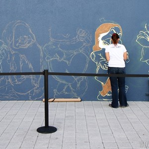 1 of 7: Limited Time Magic - Limited Time Magic - Disney Chalk Art Festival at Downtown Disney