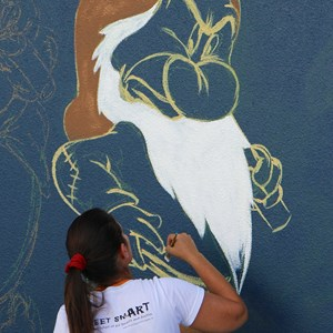 2 of 7: Limited Time Magic - Limited Time Magic - Disney Chalk Art Festival at Downtown Disney