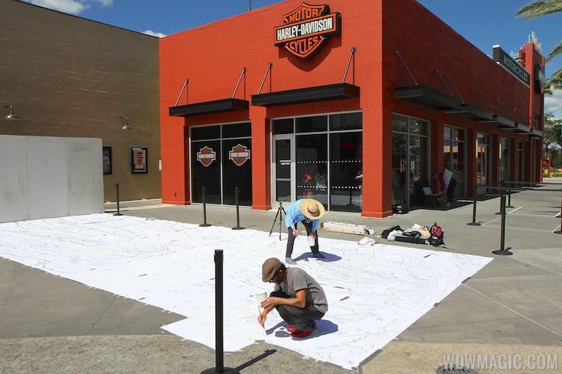 Limited Time Magic - Disney Chalk Art Festival at Downtown Disney