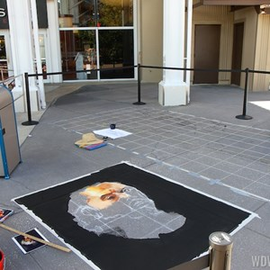 5 of 7: Limited Time Magic - Limited Time Magic - Disney Chalk Art Festival at Downtown Disney