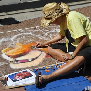 6 of 7: Limited Time Magic - Limited Time Magic - Disney Chalk Art Festival at Downtown Disney