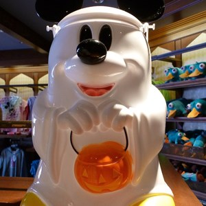 1 of 1: Mickey's Not-So-Scary Halloween Party - Mickey Ghost Popcorn Bucket