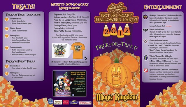 Mickey's Not-So-Scary Halloween Party - Mickey's Not-So-Scary Halloween Party 2012 guide
