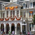 Mickey's Not-So-Scary Halloween Party - Magic Kingdom's 2013 Halloween decorations - City Hall