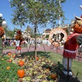 Mickey's Not-So-Scary Halloween Party - Magic Kingdom's 2013 Halloween decorations - Town Square decor