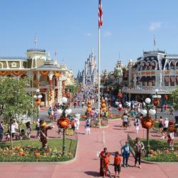 Magic Kingdom Halloween decorations 2013