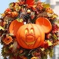 Mickey's Not-So-Scary Halloween Party - Magic Kingdom's 2013 Halloween decorations - Mickey Pumpkin heads