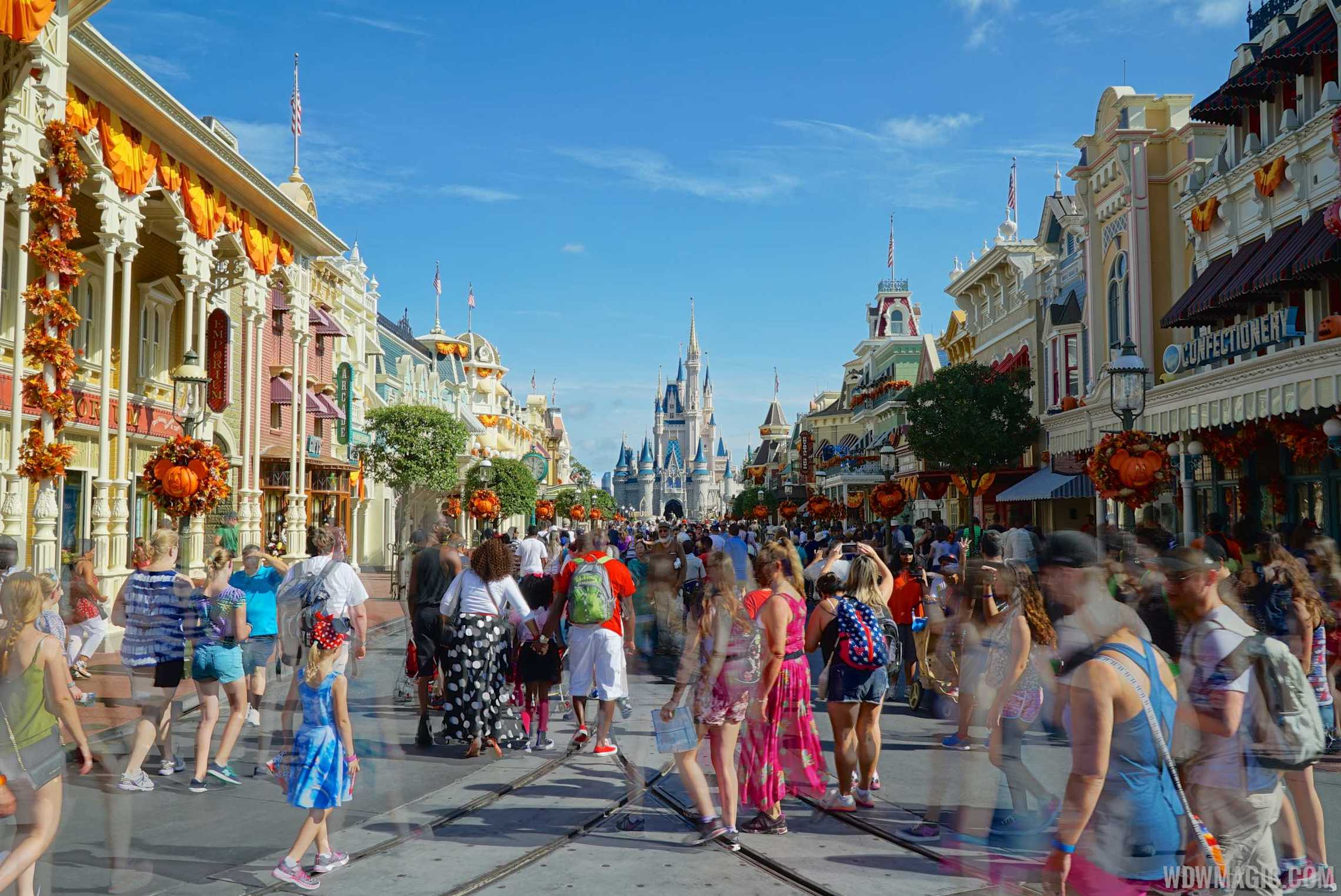 photos fall has arrived at the magic kingdom see the halloween and fall decor
