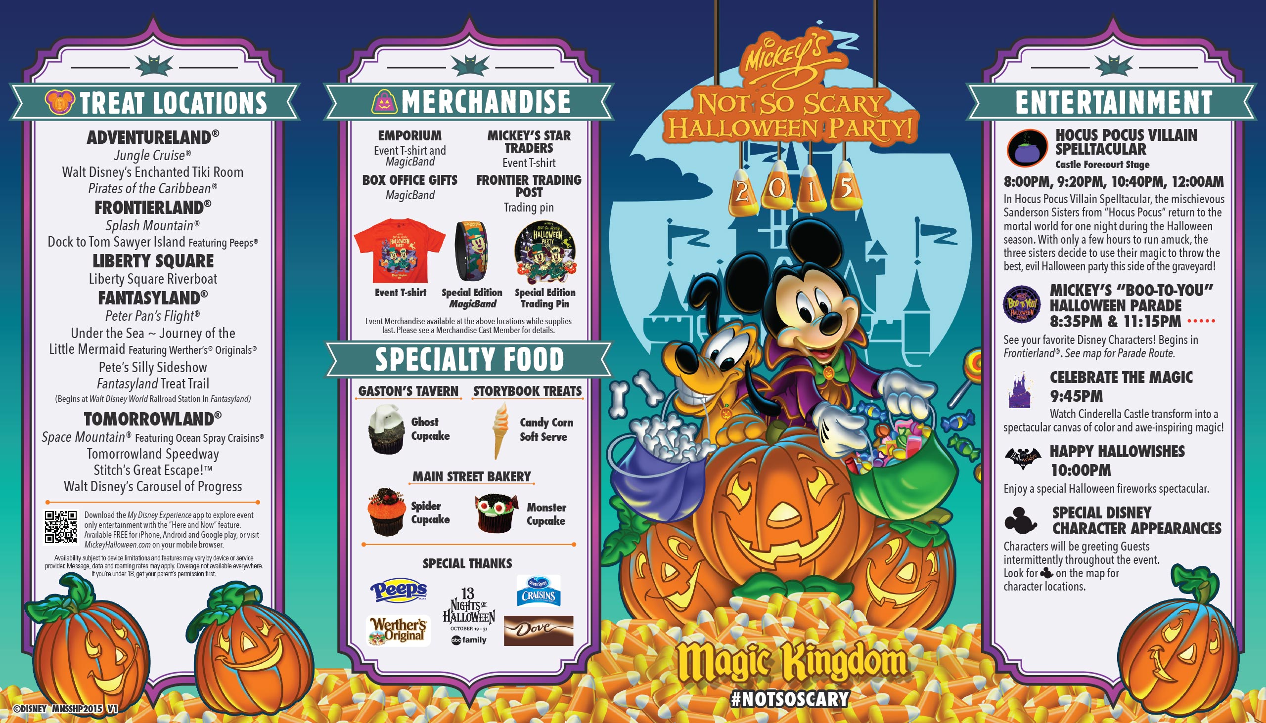 Details on the 2015 Mickey's Not-So-Scary Halloween Party ...
