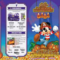all the details and schedules for the 2016 mickeys not so scary halloween party nights at the magic kingdom - Disneys Not So Scary Halloween Party