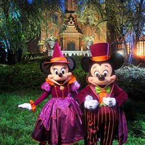 1 of 2: Mickey's Not-So-Scary Halloween Party - New character costumes