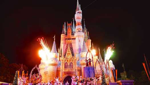 'Mickey's Most Merriest Celebration' castle show to debut at this year's Mickey's Very Merry Christmas Party
